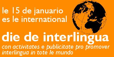 Die de Interlingua