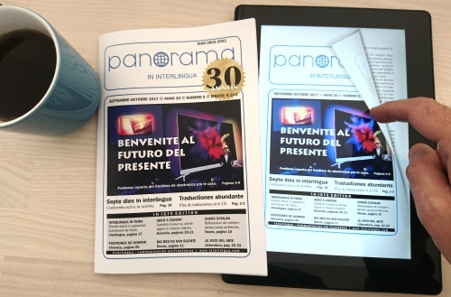 Supervista del magazin international de novas, Panorama in interlingua