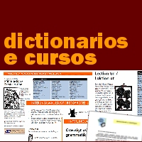 Dictionarios e cursos